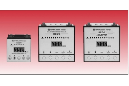 Regulatoare baterii automate de condensatoare 5,7,12 trepte
